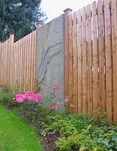 Sichtschutz Garten Selbst Gemacht Zaun Sichtschutz Natur Holz Gartengestaltung Gartenbau