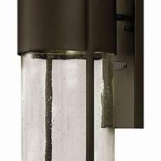 hinkley lighting 1320kz led shelter outdoor wall lights buckeye bronze ebay