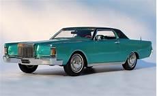1970 Lincoln Continental Iii 1 24 Bright Aqua Metallic