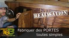 comment construire une porte en bois