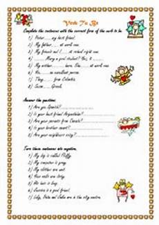 verb exercises for beginners 19150 verb to be for beginners esl worksheet by sanndry