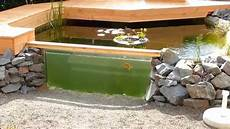 Teich Selber Bauen - mein gartenaquarium