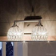 shop luxury crystal bathroom vanity light 6 25 quot h x 12 5 quot w with classic style brushed nickel