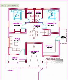 small house floor plans under 1000 sq ft single floor house plan 1000 sq ft kerala house