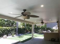 alumawood patio and ceiling fan install handyman unlimited