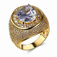 elegant jewellery trendy bling gorgeous wedding rings for women aaa quality cubic zirconia prong