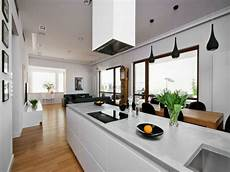 wohnzimmer mit k 252 che 34 moderne designs archzine net