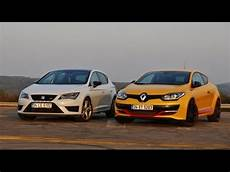 Seat Cupra V Renault Megane Rs Which Hatch Is