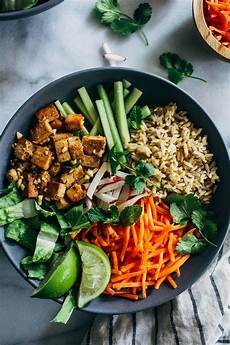 lemongrass tofu bowls making thyme for health