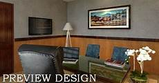 Jasa Desain Gambar Interior Ruang Kerja Direksi Direktur