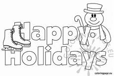 happy summer holidays coloring pages printable 17614 happy holidays images coloring page