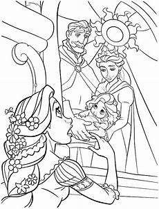 Ausmalbilder Rapunzel Baby Tangled Coloring Pages 360coloringpages