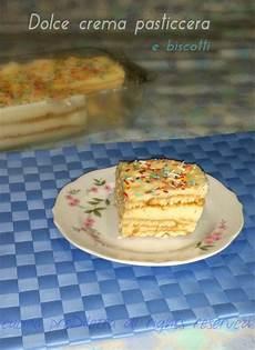 crema pasticcera con biscotti sbriciolati dolce con crema pasticcera e biscotti ricetta cucina prediletta