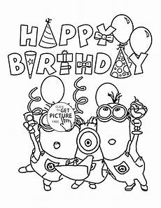 Ausmalbilder Geburtstag Kostenlos Ausdrucken Personalized Happy Birthday Coloring Pages At Getcolorings