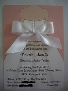 Wedding Dress Invitations