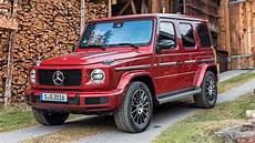 2019 Mercedes Diesel Suv by 2019 Mercedes G 350 D Brings Diesel Power To The Chunky Suv