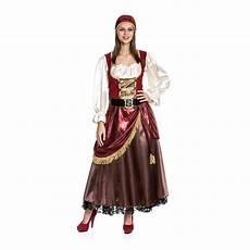 karnevalskostüme damen piratenkost 252 m damen deluxe kleid piraten kost 252 m piratin
