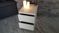 Ikea Nachttisch Kommode Mit 2 Schubladen In Wei 223 40x55