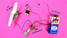 dc motor speed controller using mosfet diy speed control circuit circuit diagram youtube