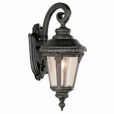 solar powered led wall mounted light sconce lantern l garden oregonuforeview