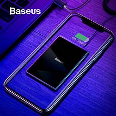Baseus 15w Qi Wireless Charger For Iphone X Xs Max Ultra