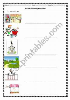 places in my neighbourhood worksheets 16015 worksheets places in the neighborhood