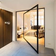 Porte En Verre Sur Pivot Anyway Doors
