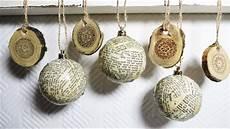weihanchtsschmuck selber machen diy ornaments