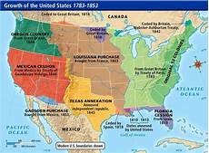 westward expansion map of the u s a this is a map of
