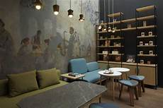 Photo Seating Area Interior View Le Gourmand Cafe 7 Desain