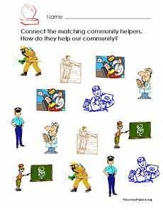 worksheets for time 18588 community helpers printables template for kindergarten 1st grade lesson planet