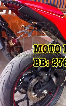 Lu Sein Vixion Variasi by Moto Fit Modifikasi Kawasaki 250 Carbu Fi Z250