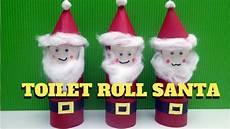 craft toilet paper roll santa claus toilet