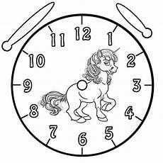 Kostenlose Ausmalbilder Uhr Uhr Zum Basteln Dansenfeesten