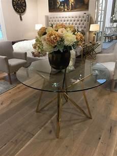 runder glastisch runder tisch glas metall glastisch rund gold esstisch