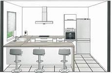 Plan Cuisine En U Avec Bar Atwebster Fr Maison Et Mobilier
