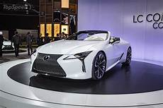2019 lexus lc convertible concept top speed