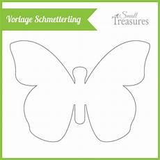 Schmetterling Vorlagen - small treasures march 2014