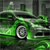 Honda Civic SI JDM Fire Crystal Car 2013  El Tony