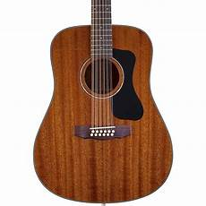 Guild Gad Series D 125 12 12 String Dreadnought Acoustic
