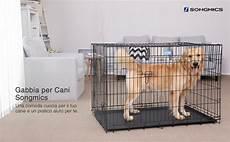 gabbie cani songmics s gabbie per cuccioli metallo gabbia