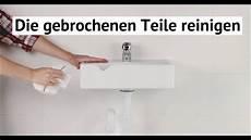 mineralguss waschbecken reparieren waschbeckenreparatur