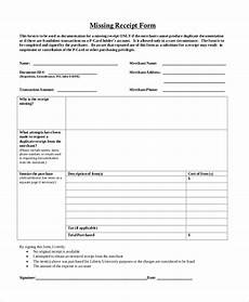 free 11 sle blank receipt forms in pdf ms word excel