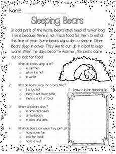 winter reading worksheets 20078 winter free rti reading comprehension passages kindergarten reading reading