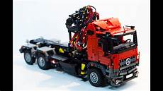 lego technic mercedes lego technic mercedes arocs hook lift