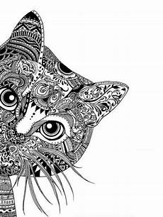 ausmalbilder muster katzen ausmalbilder katzen mandala