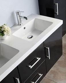 mobile bagno 2 lavabi mobile bagno taiti 120 cm bianco o nero doppio lavabo in