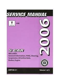 online car repair manuals free 2006 pontiac vibe instrument cluster 2006 pontiac vibe factory service repair manual 2 volume set