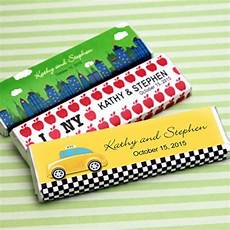 new york personalized chocolate bar new york party board