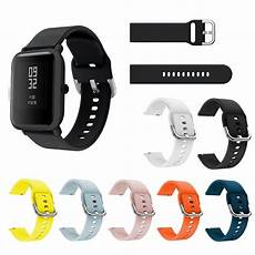 Bakeey Colorful 20mm Silicone Band by Bakeey 20mm Colorful Silicone Band For Amazfit Bip